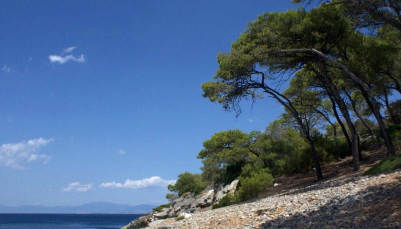 Απόνησος, Παραλίες, wondergreece.gr