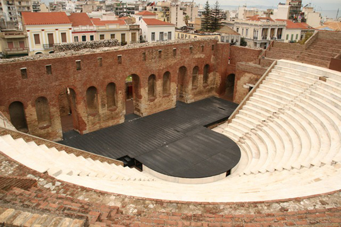 Ρωμαϊκό Ωδείο Πατρών, Αρχαιολογικοί Χώροι, wondergreece.gr
