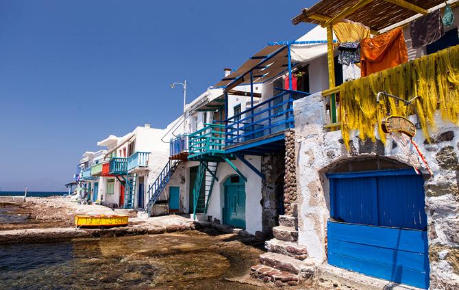 Klima, Main cities & villages, wondergreece.gr