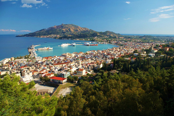 Zakynthos, Main cities & villages, wondergreece.gr