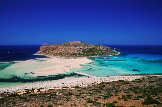 Μπάλος - Γραμβούσα, Παραλίες, wondergreece.gr