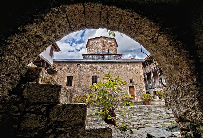 Monastery of Agios Georgios, Churches & Monasteries, wondergreece.gr