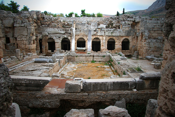 Ancient Korinthos, Archaelogical sites, wondergreece.gr