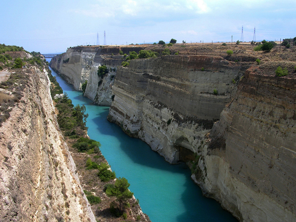 Corinth Canal, Monuments & sights, wondergreece.gr
