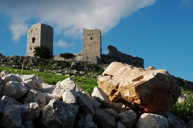 Agionori Castle, Castles, wondergreece.gr