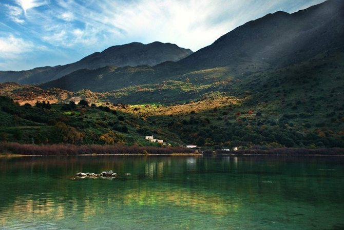 Kournas Lake, Lakes, wondergreece.gr