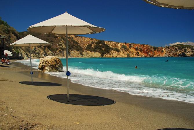 Πηλός & Βούλισμα, Παραλίες, wondergreece.gr