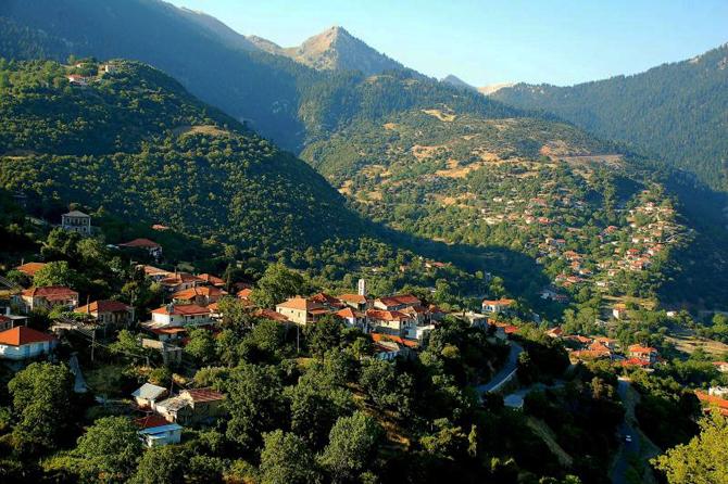Divri (Lampia), Main cities & villages, wondergreece.gr