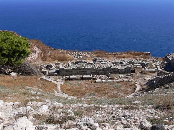 Αρχαία Θήρα, Αρχαιολογικοί Χώροι, wondergreece.gr