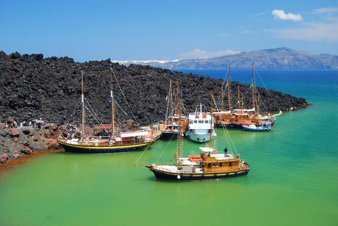 Παλαιά & Νέα Καμένη, Ηφαίστεια, wondergreece.gr