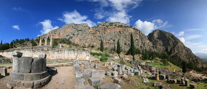 Αρχαιολογικός Χώρος Δελφών, Αρχαιολογικοί Χώροι, wondergreece.gr