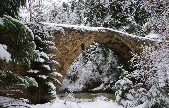 Neraidochori Bridge, Monuments & sights, wondergreece.gr