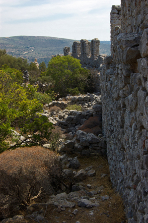 The Castle of Apolihni, Castles, wondergreece.gr