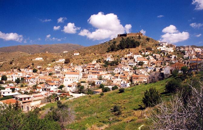 Volissos Castle, Castles, wondergreece.gr