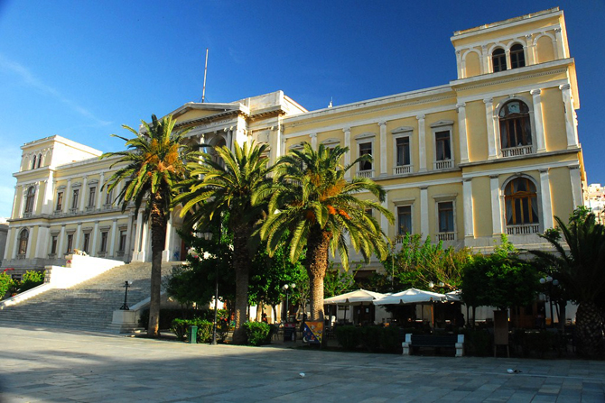 The Τown Hall, Monuments & sights, wondergreece.gr