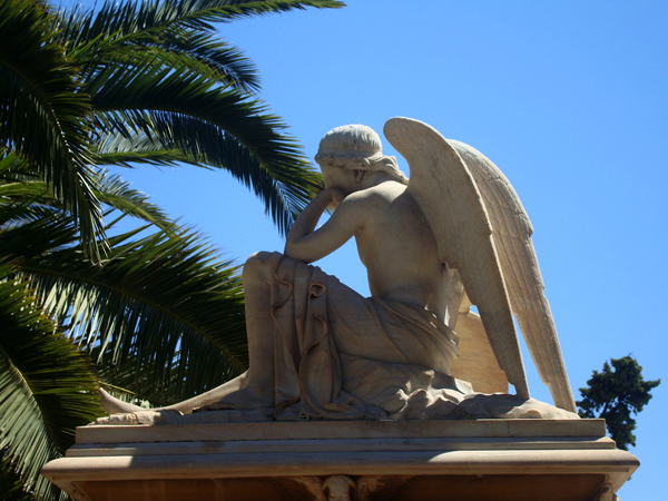 The Cemetery of the Angels & the French Hospital, Monuments & sights, wondergreece.gr