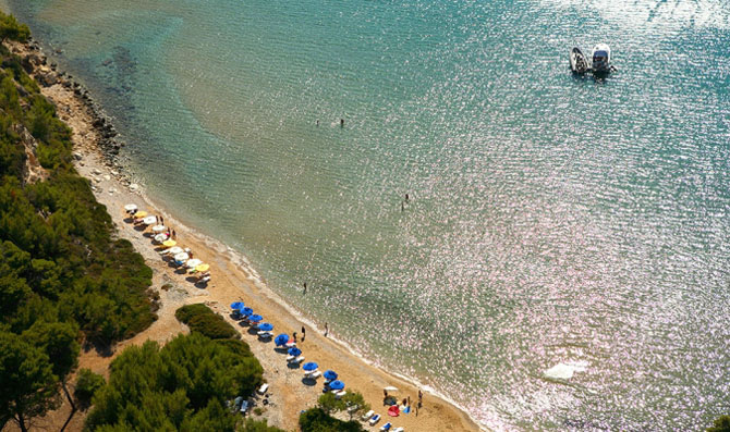 Chrissi Milia, Beaches, wondergreece.gr