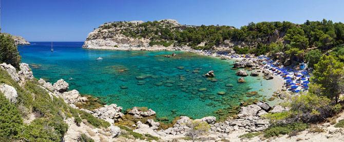 Άντονυ Κουίν, Παραλίες, wondergreece.gr