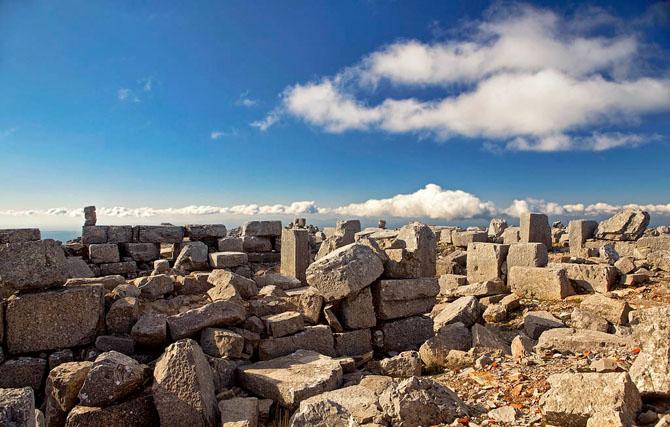 Ατάβυρος, Βουνά, wondergreece.gr