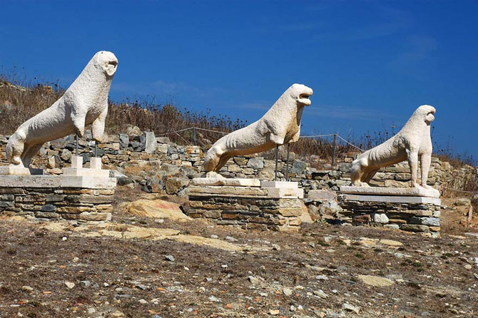 Dilos, Archaelogical sites, wondergreece.gr