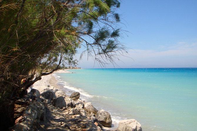Ιξιά, Παραλίες, wondergreece.gr
