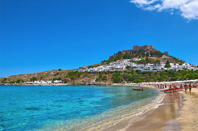 Λίνδος, Παραλίες, wondergreece.gr