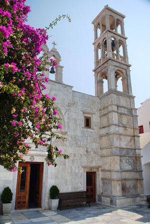Panagia Tourliani Monastery, Churches & Monasteries, wondergreece.gr