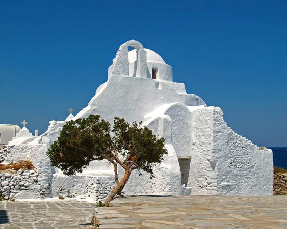 Panagia Paraportiani, Churches & Monasteries, wondergreece.gr