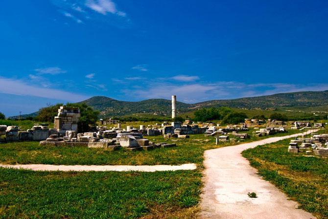 Ηραίον Σάμου, Αρχαιολογικοί Χώροι, wondergreece.gr