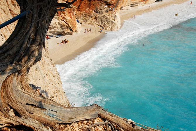 Isthmus Porto Katsiki beach, Monuments & sights, wondergreece.gr