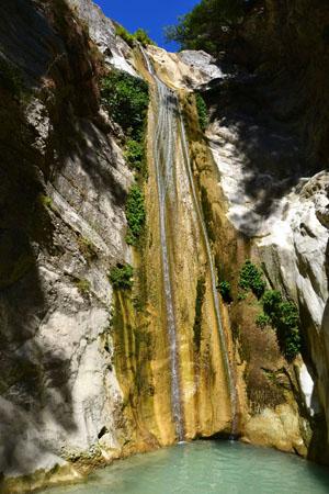 Nydri waterfalls (Dimosari), Waterfalls, wondergreece.gr