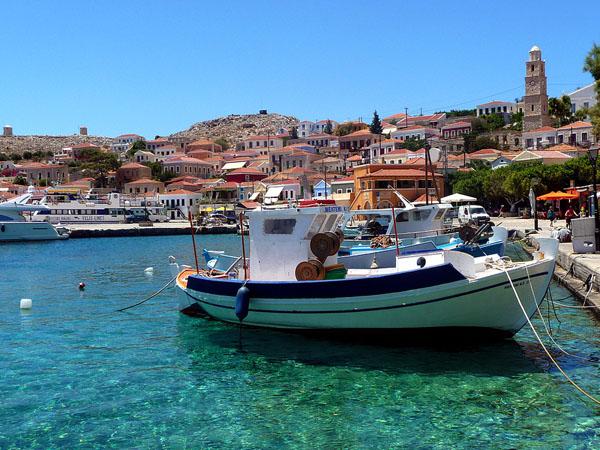 Imporio (Chalki), Main cities & villages, wondergreece.gr