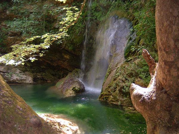 Waterfall of the Fonissa or of the Neraida, Waterfalls, wondergreece.gr