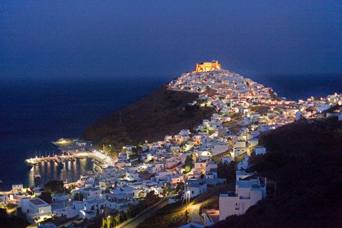 Chora (Astypalea), Main cities & villages, wondergreece.gr