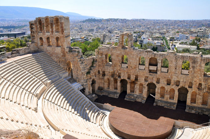 Odeon of Herodes Atticus, Monuments & sights, wondergreece.gr