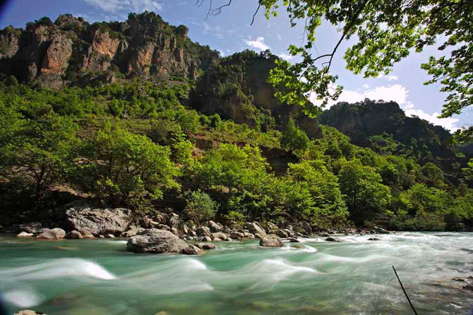 Aoos, Rivers, wondergreece.gr