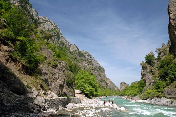 Aoos Gorge , Gorges, wondergreece.gr
