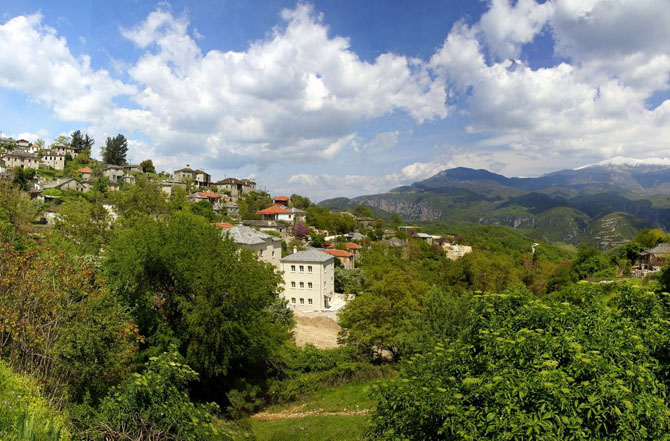 Aristi, Main cities & villages, wondergreece.gr
