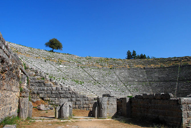 Ancient Theatre of Dodoni, Archaelogical sites, wondergreece.gr
