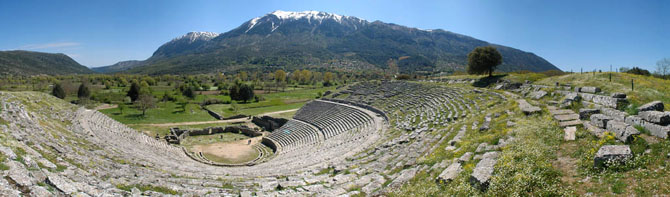 Ancient Theatre of Dodoni, Archaelogical sites, wondergreece.gr