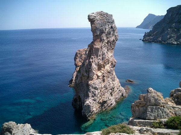 Palatia on Saria, Beaches, wondergreece.gr