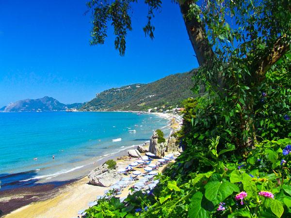 Agios Gordios, Beaches, wondergreece.gr