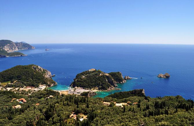 Paleokastritsa, Main cities & villages, wondergreece.gr