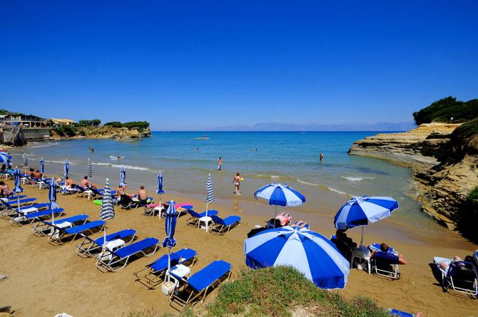 Sidari, Beaches, wondergreece.gr