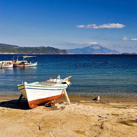 Ammouliani, Main cities & villages, wondergreece.gr