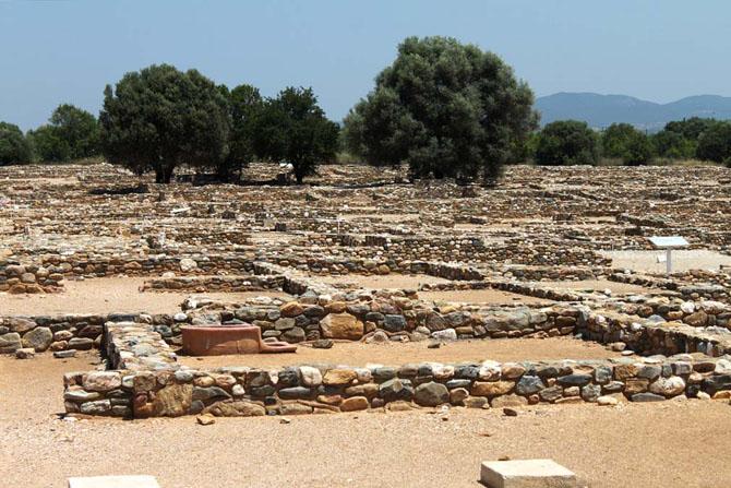 Ancient Olinthus, Archaelogical sites, wondergreece.gr