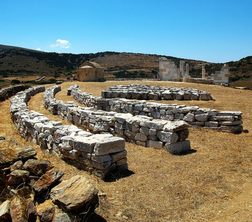 Temple of the Goddess Dimitra, Archaelogical sites, wondergreece.gr