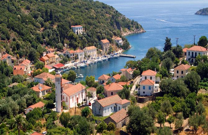 Kioni, Main cities & villages, wondergreece.gr