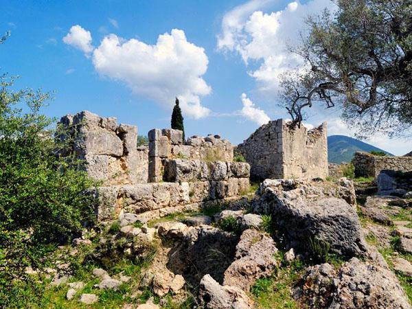 Palace of Odysseus - Agios Athanasios, Archaelogical sites, wondergreece.gr