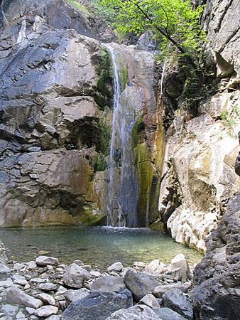 Mesolouri, Waterfalls, wondergreece.gr
